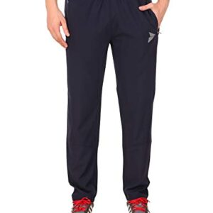 Fitinc NS Polycotton Casual and Sportswear Regular FIT Trackpant for Men with Two Zipper Pockets