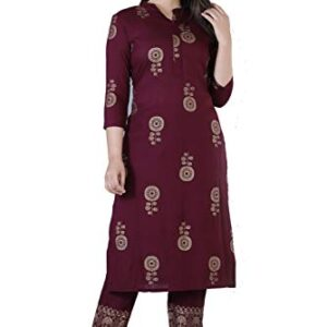 Meera Fab Women Printed Kurta with Palazzo Pant