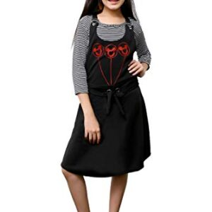 FNOCKS Girls Casual WEAR DANGRI Skirt with TOP