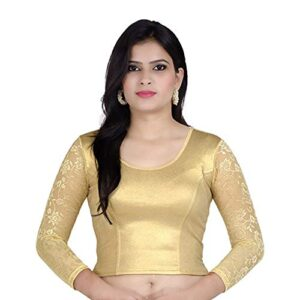 Fressia Fabrics cotton bustier Saree Blouse