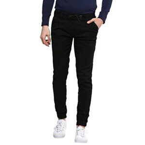 Urbano Fashion Men's Slim Fit Jogger Jeans Stretch