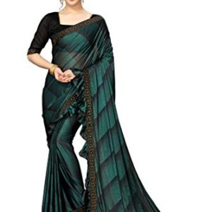 Fab Dadu Women's Silk Saree With Blouse Piece