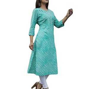 Istyle Can Women's Cotton Regular Kurta