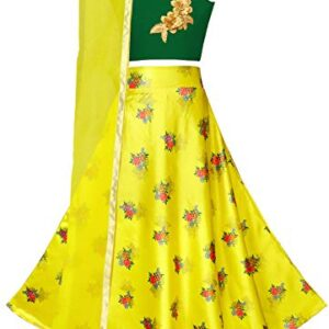 Fashion Dream Girls' Satin Lehenga Choli