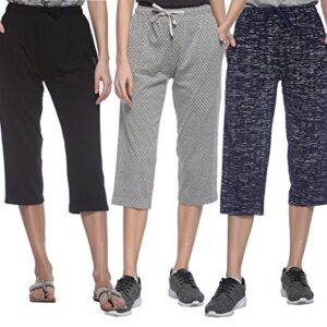 SHAUN Women Capri (Pack of 3)