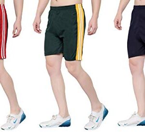 00RA WITH AS LOGO OORA Men & Women Non-Cotton Sports Gym Shorts (Free Size- 28 to 34 Inch)