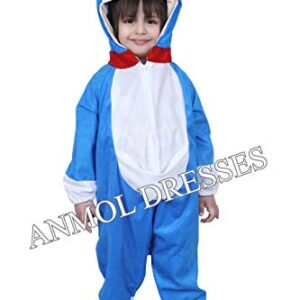 Anmol Dresses AD Doraemon Dress for 04-10 Year Kids|Doraemon Costumes| USE for School COMPETETIONS,Events & Annual Functions Kids Costume Wear