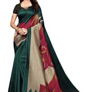 Anni Designer Women's Art Silk With Blouse Piece Saree
