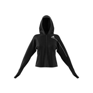 adidas Women's W ZNE Hd Full Sleeves Regular fit Track Tops Jacket