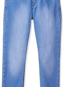 Max Boy's Slim Fit Jeans (S20DBD03MID Blue_Mid 7-8Y)
