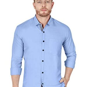 VeBNoR Formal Stylish Full Sleeve Shirts for Men