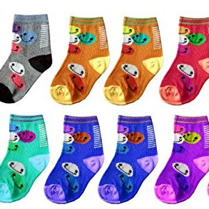 Apna Showroom Fancy Baby Socks (18 to 24 Months, Multicolour) – Designer – Fancy – Attractive Pack of 6 Pairs