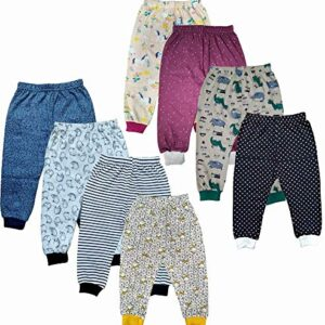 ASK – JS – LCD & CO -Pack of 6 – Babies boys and girls tops and bottoms – Unisex – sweater dress – socks & cap for toddler girl & boys – winter dress set – Newborn Dresses – Colour & design may slightly vary